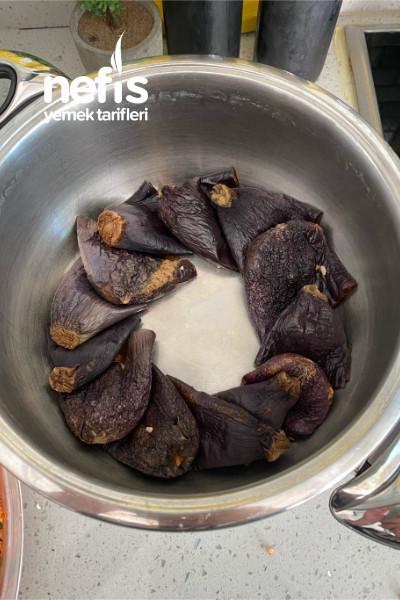 Antep Usulü Kuru Patlıcan Biber Dolması