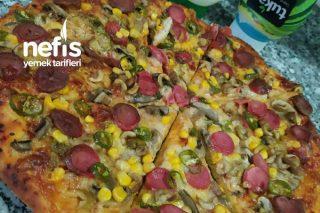 Evde Karışık Pizza Tarifi