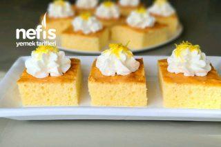 Limon Kremalı Ve Limonlu Pamuk Kek Tarifi