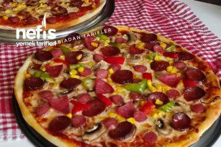 Tam Kıvamında Karışık Pizza Tarifi