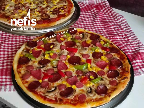 Tam Kıvamında Karışık Pizza