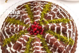 Tart Kalıbında Malaga Pastası (Videolu) Tarifi