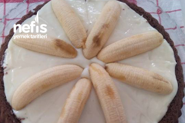 Tart Kalıbında Malaga Pastası (Videolu)