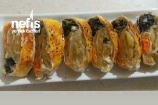 Üç Renkli Sebzeli Börek Tarifi