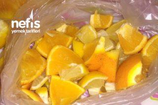 Yazın Buz Gibi Limonata İçin Dondurucuda Limon Ve Portakal Saklama Tarifi