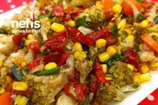 Brokoli Karnabahar Salata Tarifi