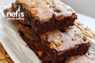 Çikolatalı Vişneli Browni Kek Tarifi