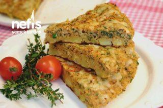 Kahvaltı İçin Nefis Patatesli Tava Böreği Tarifi