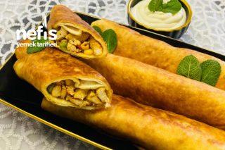 Lavaş Ekmekten Rulo Börek (Çin Usulü) Tarifi