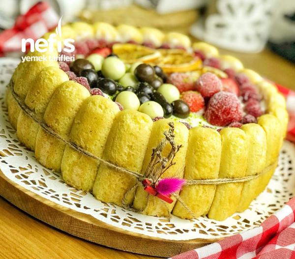 Meyveli Kedidilli Pasta(tart Kalıbında)