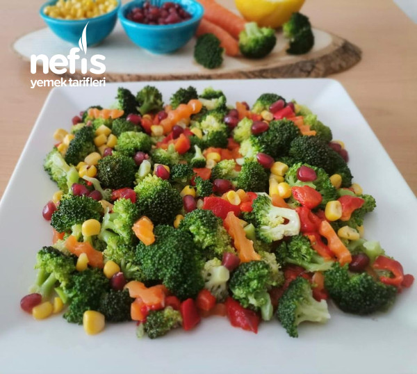 Zeytinyağlı Brokoli Salatası