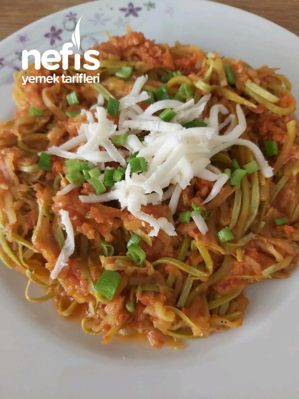 Kabak Spagetti(hem Sağlıklı Hemde Çok Lezzetli Müthiş)
