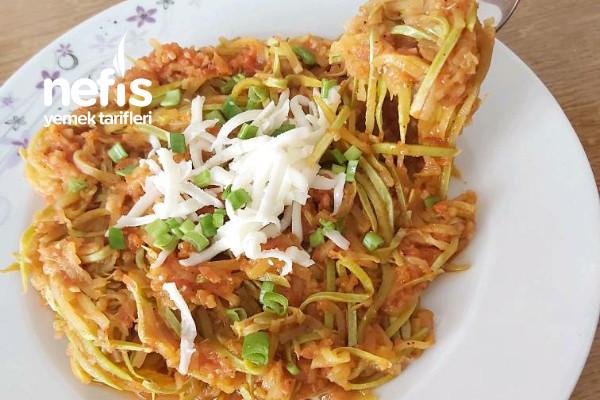 Kabak Spagetti (Hem Sağlıklı Hemde Çok Lezzetli Müthiş)