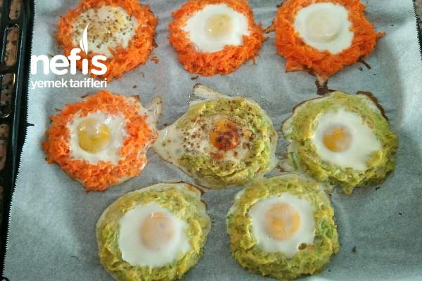 Sebzeli Yumurta Yuvaları