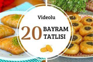 Videolu Bayram Tatlıları Tarifi
