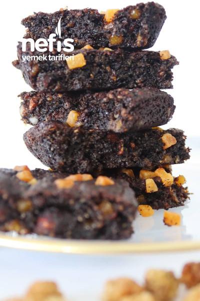 Şekersiz, Unsuz Sağlıklı Brownie