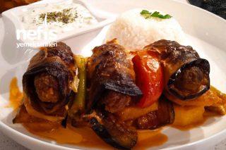 Nefis Patatesli Patlıcan Sarma Tarifi