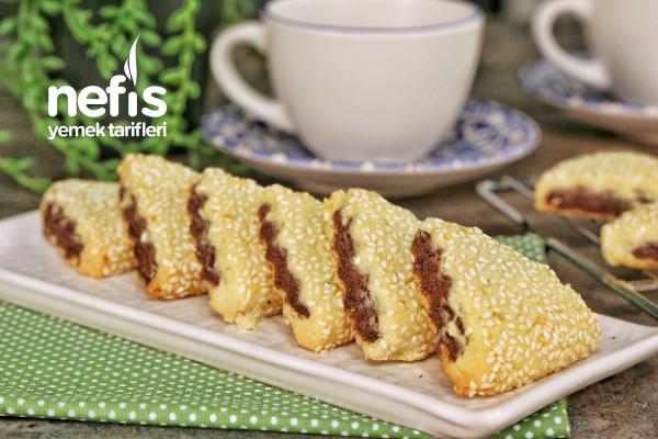 Kakaolu Susamlı Tatlı Pastane Kurabiyesi (videolu)