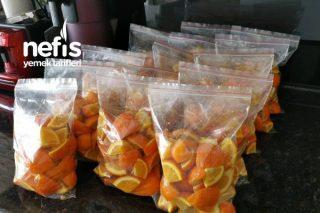 Yazın Doğal Limonata İçin Portakal Tarifi