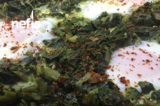 Yumurtalı Ispanak Kavurma Tarifi