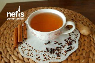 5 Dakikada Yapabileceğiniz Yağ Yakan Tarçınlı Zencefilli Karanfil Çayı (Videolu) Tarifi