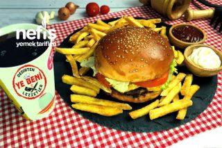 Evde Burger King Kral Burger Menü Tarifi Harika Oldu (Videolu)