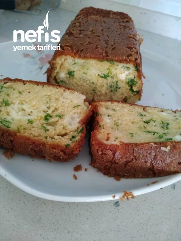 Hafta Sonu Kahvaltısı İçin Peynirli Kek