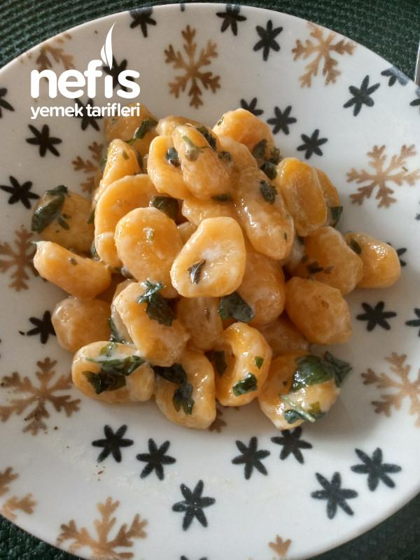 Tatlı Patates Gnocchi