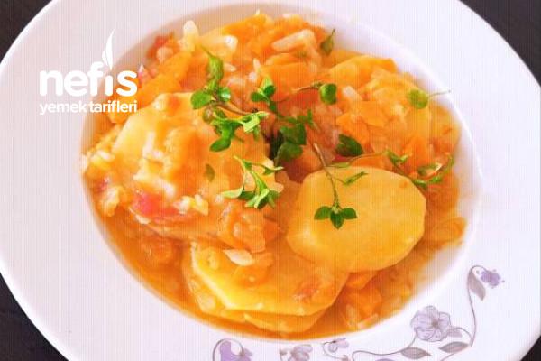 Türk Mutfağından Patates Pilaki