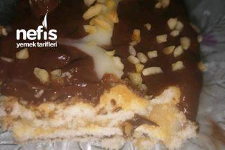 Vanilya Ve Çikolata Kremalı Bisküvili Pasta Tarifi