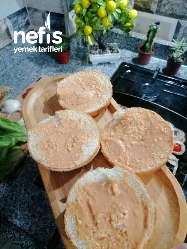 Cheddar Peynirli Hamburger