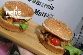 Cheddar Peynirli Hamburger Tarifi