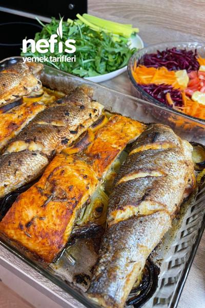 Fırında Levrek Balığı