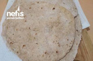 Kepek Unlu Yumuşacık Fit Lavaş Ekmeği Tarifi
