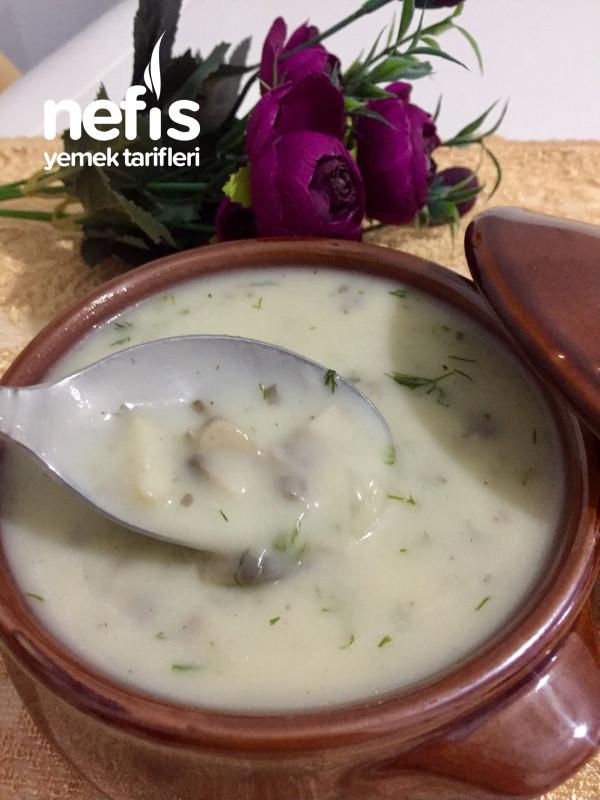 Kremalı Tadında Mantar Çorbası (Herkes Bayılıyor)