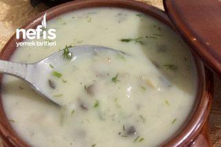 Kremalı Tadında Mantar Çorbası (Herkes Bayılıyor) Tarifi