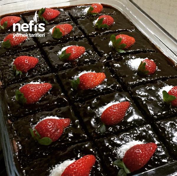 Çikolata Severlerin Bayılacağı Yoğun Islak Kek(brownie)
