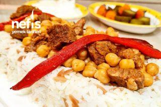 Etli Nohutlu Yemek Ve Şehriyeli Pirinç Pilavı Tarifi