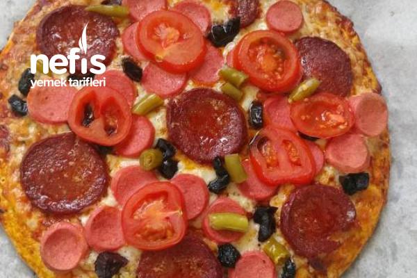 Nefisss Diyet Yulaf Pizza