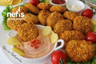 Patates Cipsi Kaplamalı Çıtır Tavuk Nugget (Çocuklarınız Bayılacak) Tarifi