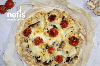 Tavuk Tabanlı Kilo Aldırmayan Pizza Tarifi