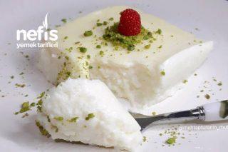 Dondurma Tadında İrmikli Yalancı Tavuk Göğsü Tatlısı Tarifi
