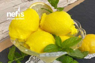 Ev Yapımı Limonlu Dondurma Tarifi