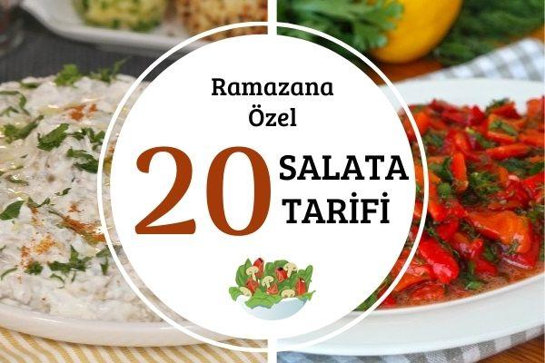Ramazana Özel 20 Nefis Salata Tarifi
