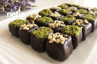 Sadece 3 Malzemeyle Mükemmel Lezzet Çikolatalı Truff Tarifi (Videolu)