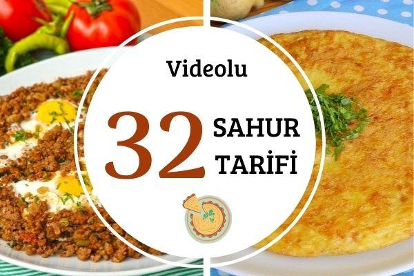 Videolu Sahur Yemekleri: Pratik Tok Tutan Tarifler Tarifi