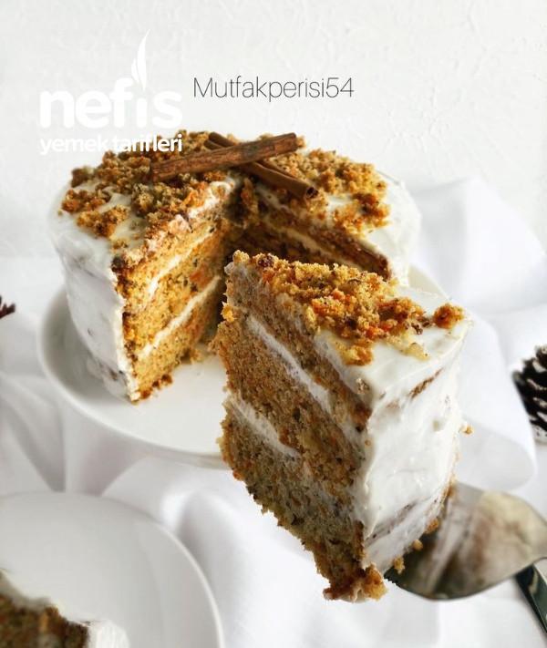 Carrot Cake ( Starbucks Havuçlu Kek )
