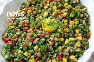 Protein Deposu Yeşil Mercimek Salatası Tarifi