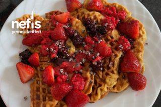 Rafine Şekersiz Sağlıklı Waffle Tarifi