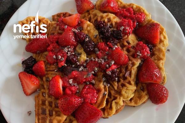 Rafine Şekersiz Sağlıklı Waffle
